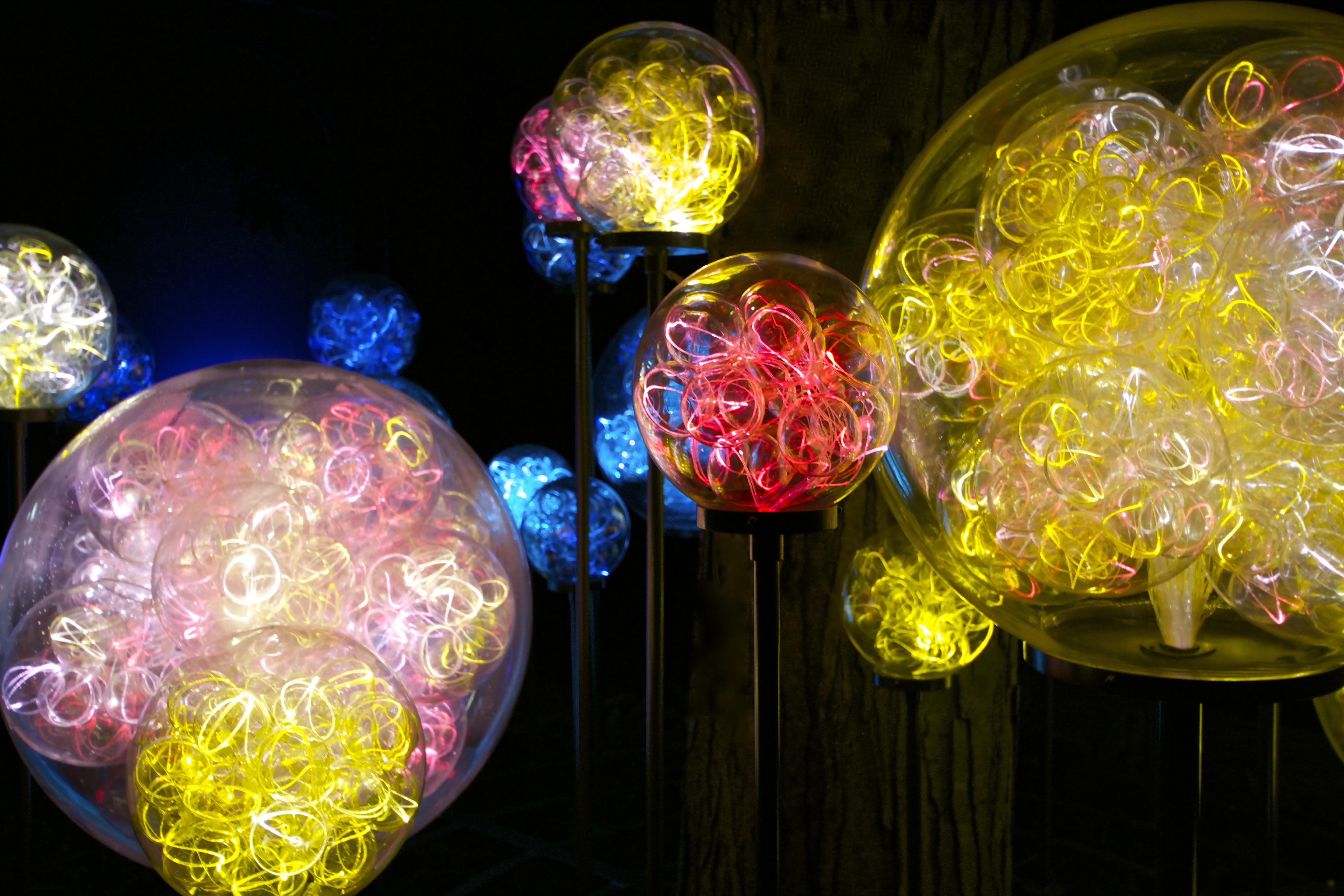 Light Installations By Bruce Munro Pops Amp Mojo Photos