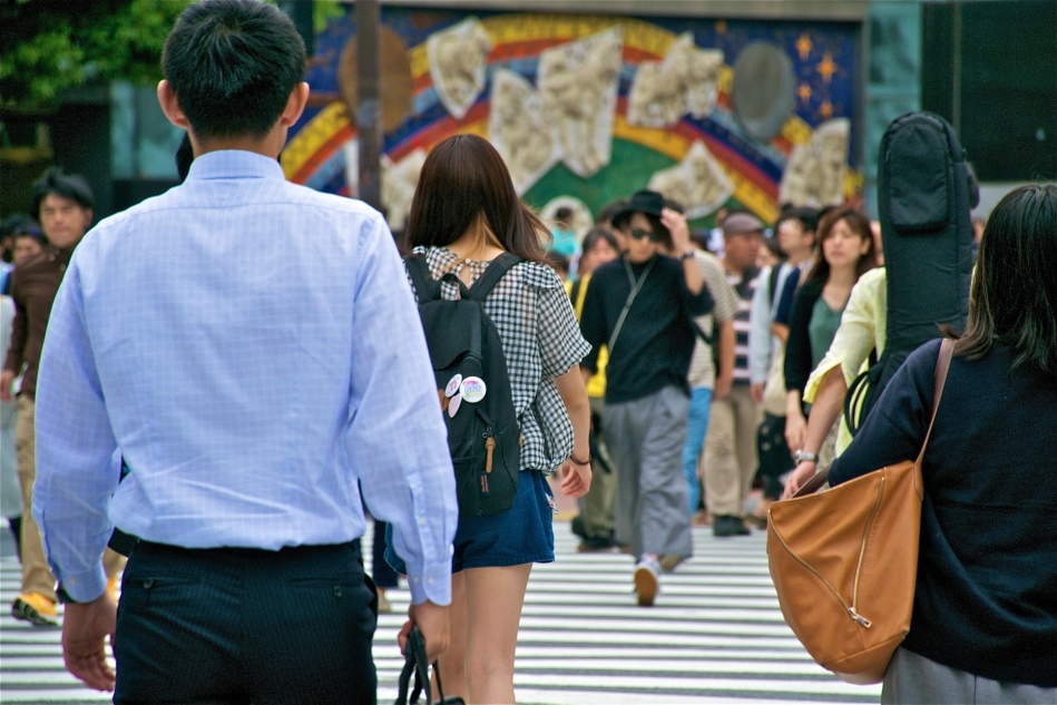 Shibuya Crossing 6