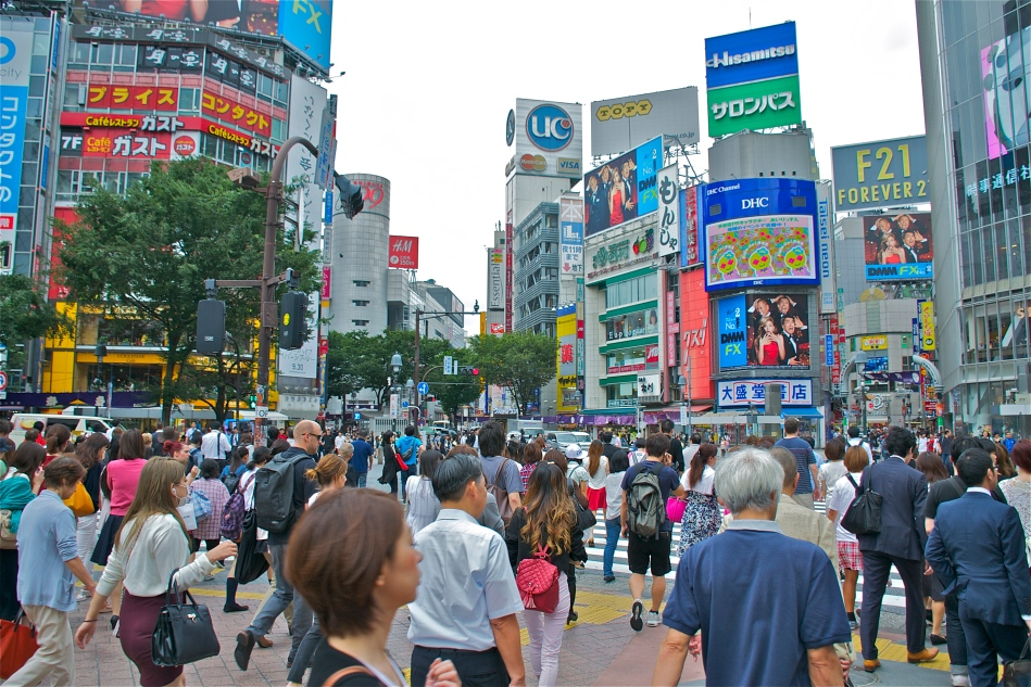 Shibuya Crossing 13